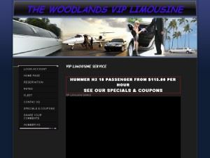 The Woodlands Vip Limousine - Pasadena