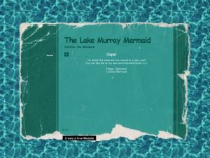 Lake Murray Mermaid