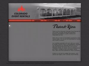Colorado Event Rentals