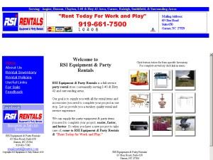 RSI Equipment & Party Rentals
