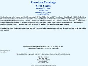 Carolina Carriage