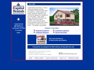 Capitol Rentals And Sales LLC