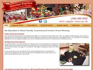 Gourmet Express Catering