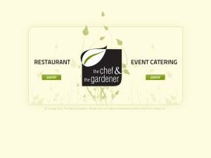 The Chef And Gardener Event Planning
