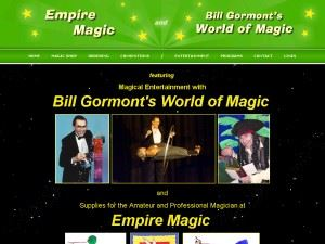 Bill Gormont's World of Magic - Corning
