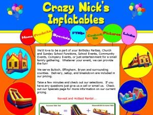 Crazy Nick's Inflatables