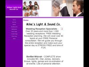 Mike's Light and Sound Co. DJ/MC