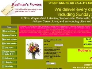 Kaufman's Flowers
