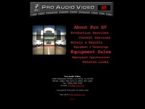 Pro Audio Video Incorporated