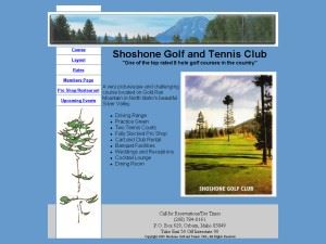 Shoshone Golf And Tennis Club