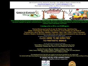 Great Event Catering - Brooksville