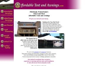 Affordable Tents And Awnings