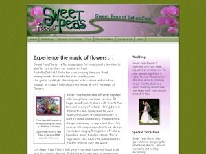 Sweet Peas of Tahoe