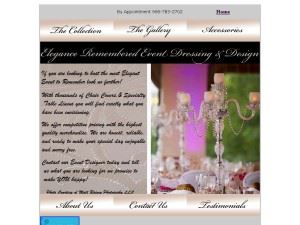 Elegance Remembered Event Dressing & Design