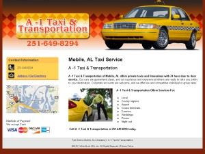 A-1 Taxi & Transportation Services