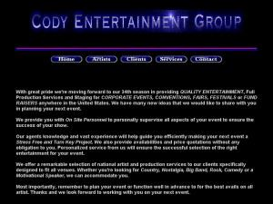 Cody Entertainment Group
