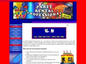 Party Rental Professional, Inc