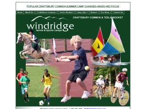 Windridge Tennis At Craftsbury