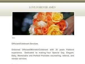 Love Forever Amen - Wedding Officiant Services