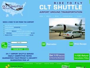 CLT SHUTTLE-RIDE TO FLY