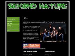 Sekond Nature Live Cover Band