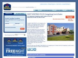 The Comfort Inn & Suites hotel in Orangeburg