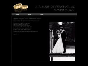 A-1 MARRIAGE OFFICIANT AND NOTARY PUBLIC