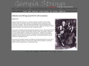 Georgia Strings