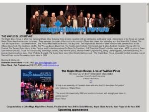 The Maple Blues Revue