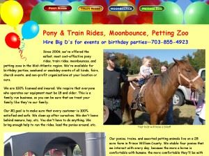 Big D'S Pony Rides and Petting Zoo LLC