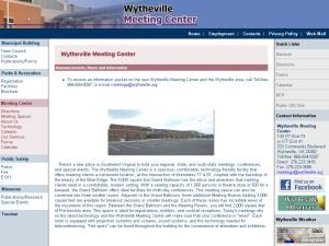 Wytheville Meeting Center