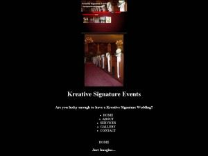 Kreative Signature Envents
