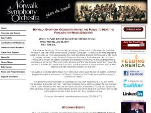 Norwalk Symphony Society Inc