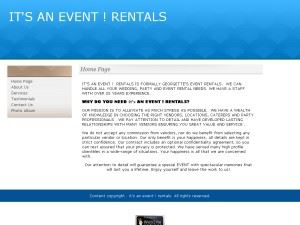 IT'S AN EVENT ! RENTALS