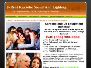 U-Rent Karaoke Massachusetts and Connecticut