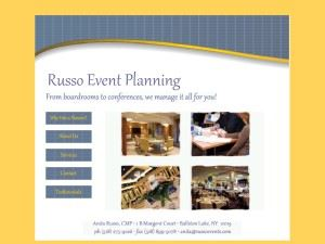 Russo Event Planning