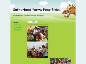 Sutherland Farms Pony Rides