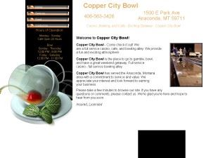 Anaconda Copper City Bowl INC