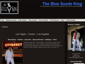The Blue Suede King