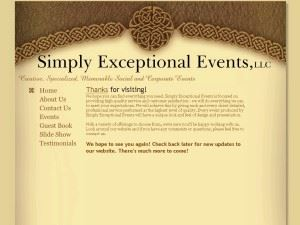 Simply Exceptional Events