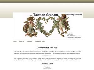Tawnee Graham Wedding Officiant