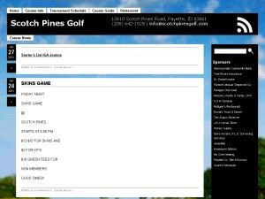 Scotch Pines Golf Course