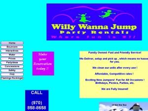 Willy Wanna Jump Party Rentals