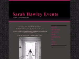 Sarah Hawley Events