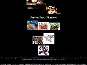 Perfect Party Planners