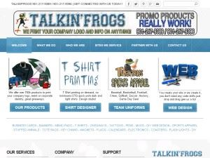 Talkin'frogs Video Design and Production