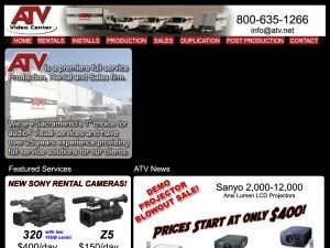 "ATV Audio Visual-Fresno"" Affordable LCD Projector screen and wireless microphone rentals"""