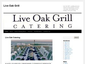 Live Oak Grill Catering