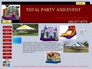 TOTAL PARTY AND EVENT