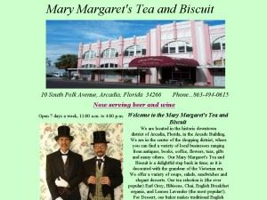 Mary Margaret's Tea and Biscuit
